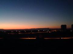 Dawn (jesse3597) Tags: blue winter sky orange cold beautiful sunrise scarlet wednesday landscape dawn january planet