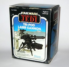 tri-pod laser cannon the empire strikes back star wars return of the jedi packaging kenner 1982 mib a (tjparkside) Tags: 6 ice star back 1982 5 five web tripod hose v pack e return empire jedi cannon planet laser packaging kenner accessories wars energizer heavy six strikes episode mib vii stands blaster hoth repeating eweb rotj tesb