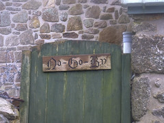 No Go By Cottage-2 (Odd Wellies) Tags: england sign unitedkingdom nogoby sw3732