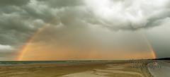 Rainbow over Buffalo Creek (stormgirl1960) Tags: ocean sky storm beach rain clouds rainbow darwin northernterritory buffalocreek