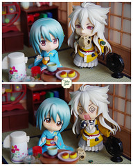 Funny Story 04 (Ylang Garden) Tags: corner japanese miniature handmade dollhouse roombox nendoroid