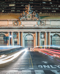 Park Avenue Viaduct (DSC00997-Edit) (Michael.Lee.Pics.NYC) Tags: longexposure newyork night nikon sony grandcentralterminal lighttrail traffictrail parkavenueviaduct nikkor85mmaf18 a7rm2