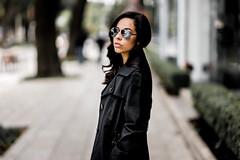 Monica (gigarafa) Tags: park sexy coffee girl sunglasses fashion mexico smoking monica masaryk gigarafa