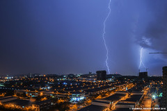 February 14 2016 Lightning 4 (Shamsul Hidayat Omar) Tags: weather photography nikon raw ken malaysia lightning omar selangor shah alam rimba hidayat greatphotographers kilat shamsul d800e