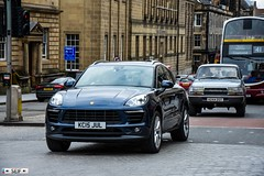 Porsche Macan S D S-A Edinburgh 2016 (seifracing) Tags: scotland europe traffic britain transport scottish voiture vehicles british van emergency spotting services strathclyde brigade ecosse seifracing