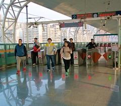Railway station near Chengdu (jonarnefoss2013) Tags: china chengdu sichuan kina xipu nikon1