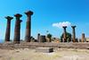 Athena (umutaksoy76) Tags: travel landscape temple column athena turkish assos ancientmonument çanakkale behramkale ayvacık