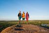 Maasai Jumping on top of Rock (yukirichards) Tags: africa travel wild nature trekking jump jumping nikon view kenya earth wildlife hike safari explore viewpoint maasai d610 walkingsafari