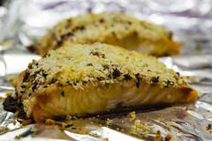 70/365 Salmon for Dinner (telibrium) Tags: fish closeup dinner salmon seafood