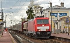Traxx & Class 66072 (- Oliver -) Tags: train euro rail db cargo 66 class fret ecr sncf traxx 66072 e186