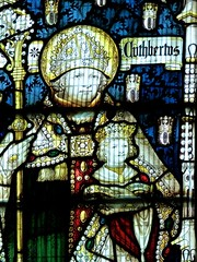 Retford - St Swithun's - Kempe Glass (Glass Angel) Tags: tower stainedglass nottinghamshire retford stoswald stcuthbert kempe stswithun