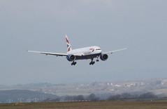 G-VIIO return (aitch tee) Tags: usa aircraft landing boeing britishairways airliner victorville walesuk cardiffairport b777200 gviio maesawyrcaerdydd cwlegff speedbird9179 baw9179