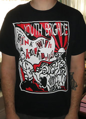 #1704A Youth Brigade - Sink With Kalifornia (Minor Thread) Tags: ca records rock shirt vintage diy concert punk tour tshirt merch minor minorthread byo youthbrigade skaterock tshirtwars sinkwithkalifornia