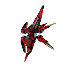 Star Citizen Xian Scout aft (turbokiwi) Tags: fighter lego alien scout xian spaceship starcitizen khartual