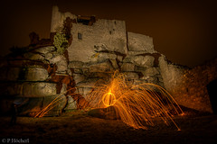 "Lightpainting - Burg Flossenbürg • <a style=""font-size:0.8em;"" href=""http://www.flickr.com/photos/58574596@N06/25785678505/"" target=""_blank"">View on Flickr</a>"