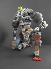 The Fiddler (Kingmarshy) Tags: inspiration robert illustration robot toes lego fingers inspired system fusion bionicle fiddler the moc posable articulation poseable pinterest sammelin