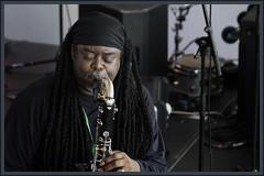 COURTNEY PINE JAZZ (worldwotcha) Tags: show music black jazz sage sax courtneypine