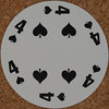 Round Playing Card 4 of Spades (Leo Reynolds) Tags: xleol30x squaredcircle playing card playingcard deck carddeck sqset126 canon eos 40d xx2016xx