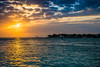 Key West Sunset (Laenulfean) Tags: sunset sea sky cloud sun west water dawn seaside key florida outdoor shore keywest hdr caribean caribic 5xp
