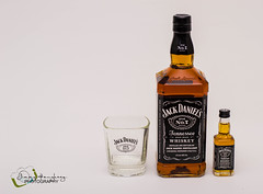 Thirsty (jimmyafc) Tags: glass project jack bottle daniels whisky jd