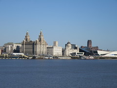Liverpool Waterfront from Seacombe Promenade (cjayd62) Tags: building port liverpool liver cunard mersey merseyferries