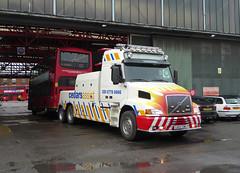 CEDARS ASSIST 7 - CA03TOW - OSF - BX BEXLEYHEATH BUS GARAGE - MON 22ND FEB 2016 (Bexleybus) Tags: bus london ahead truck wagon volvo kent garage go 7 assist tow recovery cedars bexleyheath 460 bx goahead nh12 ca03tow