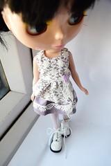 Blythe purple outfit set