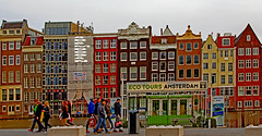 AMSTERDAM PANORAMA (01dgn) Tags: city red panorama holland netherlands colors amsterdam landscape europa europe outdoor peoples niederlande avrupa hollanda
