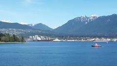 Vancouver harbour (D70) Tags: snow canada mountains skyline vancouver coast ship bc harbour britishcolumbia sulphur stanleypark freighter coalharbor northvancouverandthecoastmountainsaroundburrardinlet