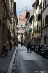Going to Dome (Mario Aprea) Tags: street city bridge river florence mario medieval firenze arno toscana aprea