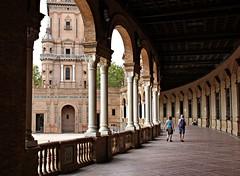 Sevilha! (Jorge Cardim) Tags: plaza espaa spain espanha plazadeespaa sevilha praadeespanha andaluzia