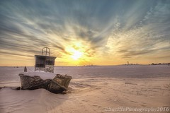 ABC_7887s (savillent) Tags: ocean sky sun snow canada cold ice clouds sunrise landscape photography boat spring nikon northwest nwt arctic national april 40 hdr geographic territories 2016 tuktoyaktuk