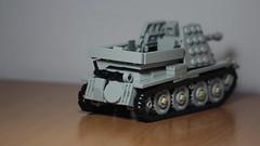 Marder III (38t) back (italianww2builder) Tags: war tank lego iii german ww2 custom marder 38t