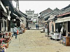 Village of Ming Dinasty (Bruno Zaffoni) Tags: china guizhou cina qingyan