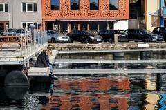 the lovely Harbor in Trshavn (ftrc) Tags: harbor streetphotography faroeislands trshavn kaffihsi fotostrasse trshavnharbor