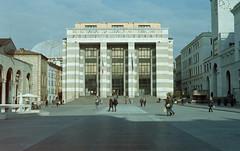 Poste Centrali Brescia (Lszl K.) Tags: by rollei 50mm punto nikon foto f14 milano group epson fe nikkor ais v550 c41 cn200