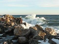 restless Lake Superior 1-8-13 (photo synth) Tags: waves northshore lakesuperior grandmarais bigwaves wavescrashing
