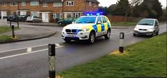 Herts Police BMW X5 Responding (slinkierbus268) Tags: bmw emergency hertfordshire bluelights x5 hertfordshireconstabulary hertfordshirepolice