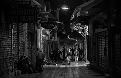 Athens walks #5 (Yiannis Chatzitheodorou off shooting...) Tags: nightphotography bw night athens athina urbanlife   canoneos5dmarkii urbanlandscapce