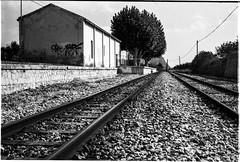 Benissa, Spain (www.mikebark.eu) Tags: crimson analogue kodaktmax100 leicam3 24bw