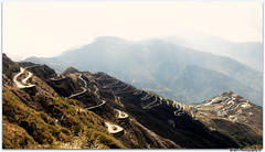 Zigzag Road East Sikkim, March'16 (Arijit Barik) Tags: road canon photography zigzag sikkim 18mm55mm eastsikkim zigzagroad 1200d rijit