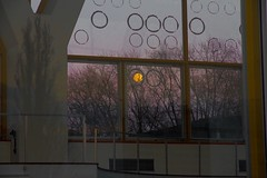 IMG_6140 (Elo_M.) Tags: sunset moon architecture basel barrage coucherdesoleil birsfelden