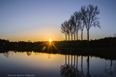 20160420 (micha-63) Tags: bayern nikon sonnenuntergang sundown franken sonne weiher d90