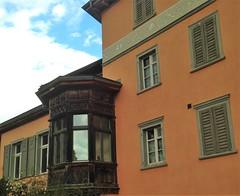 Tamins (micky the pixel) Tags: building schweiz switzerland suisse architektur gebude erker graubnden grischuna tamins hausfassade