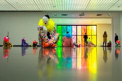Vocabulary of Solitude, Ugo Rondinone (ine.tesser) Tags: art colourful clowns ugorondinone