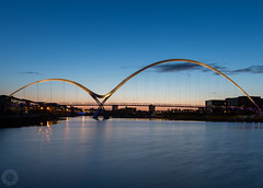 Infinity Bridge-Stockton (Raj Jayaraj Photography) Tags: bridge sunset landscape outdoor infinity stockton tees