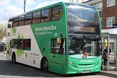 National Express West Midlands Alexander Dennis Enviro400H 5402 (BX61 LHD) (Wolverhampton) 'Ann Marie' (john-s-91) Tags: 5402 wednesfield nationalexpresswestmidlands alexanderdennisenviro400h wolverhamptonroute59 bx61lhd