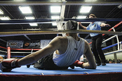 down for the count (John Rothwell) Tags: sports golden michigan grand rapids gloves boxing amateur goldengloves