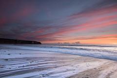 I Don't sleep I Dream (johnkaysleftleg) Tags: morning england seascape sunrise canon tide shoreline northeast seaham blastbeach countydurham durhamcoast 760d ndhardgrad12