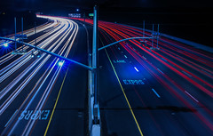 exprs lane (pbo31) Tags: california red black color night nikon highway traffic over bayarea april eastbay livermore alamedacounty 580 expresslane 2016 lightstream boury pbo31 d810